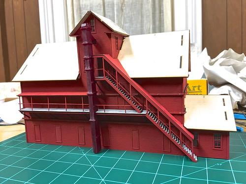 Flat Seam Roofing Material Ho Scale Model Railroader