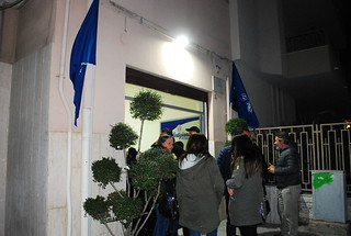 La nuova sede in via Campania