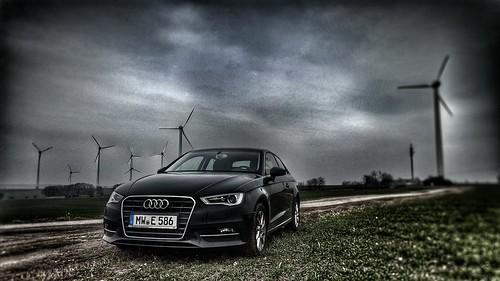Audi A3 in the wild