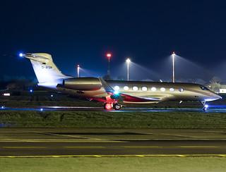 MHS Aviation GmbH   Gulfstream Aerospace G650   D-AYSM