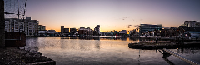 Grand Canal Dock - Dublin, Ireland - Cityscape photography