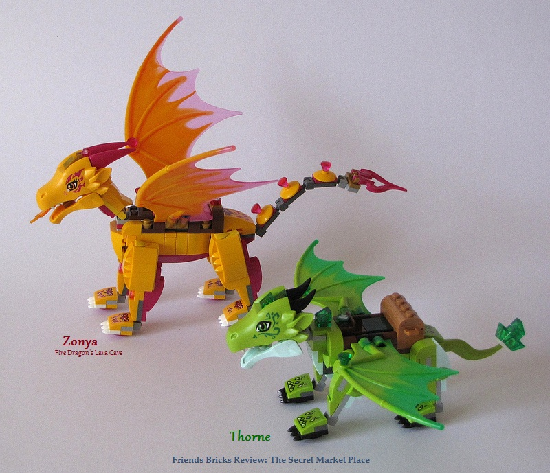 elves lego how to build the queen dragon set