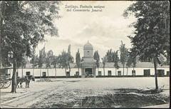 Imagen aportada por mi amigo Carlos Gamero, el León, cementerio general de santiago, recien en 1855 aceptó disidentes