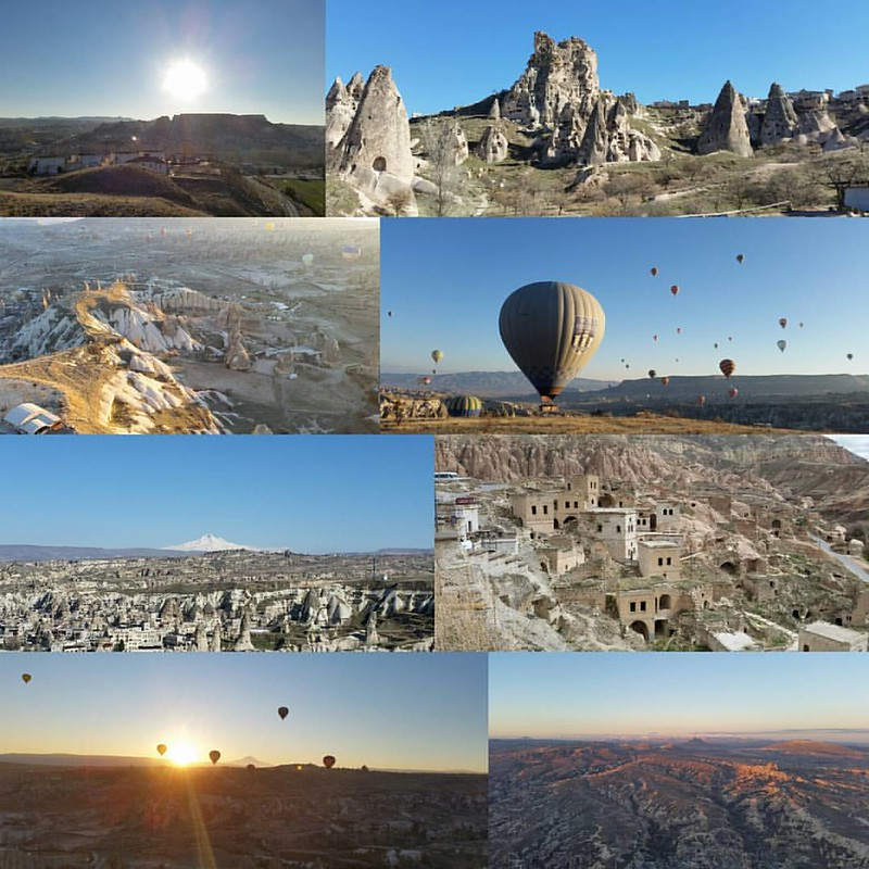My birthday trip this year was filled with amazing sites and experiences. I completely fell inlove with Cappadocia 💙 #cappadocia #vacation #holiday #turkey #mountains #landscape #nature #hotairballoon #99luftballons #kappadokya #unesco