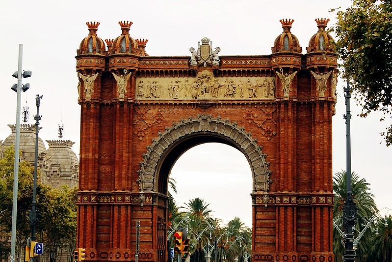 Drawing Dreaming - guia de visita de Barcelona - Arc de Triomf