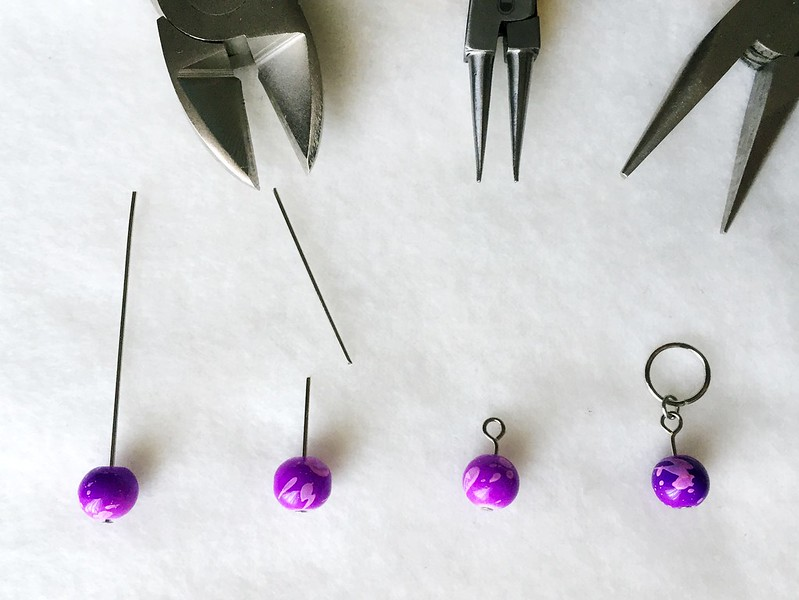 Using Stitch Markers In Knitting : Carissa Knits: DIY Stitch Markers