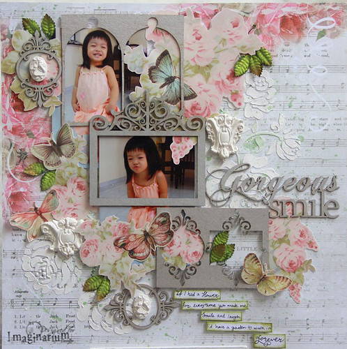 """Gorgeous Smile"" Layout"