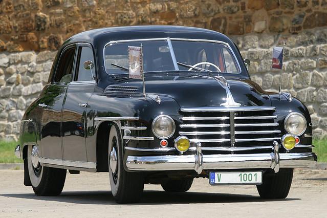 Седан Skoda VOS. 1950 - 1952 годы
