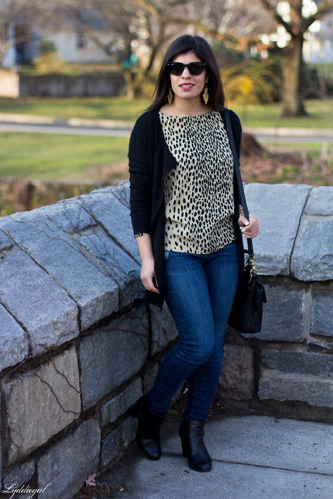 leopard tunic, black cardigan, coach bag-5.jpg