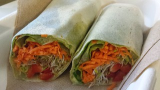 Vegan Wrap from The Wolf, The Bean and The Walnut