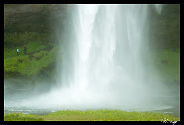 Islandia cascada Seljalandsfoss Skógafoss Vík - Cascada Seljalandsfoss