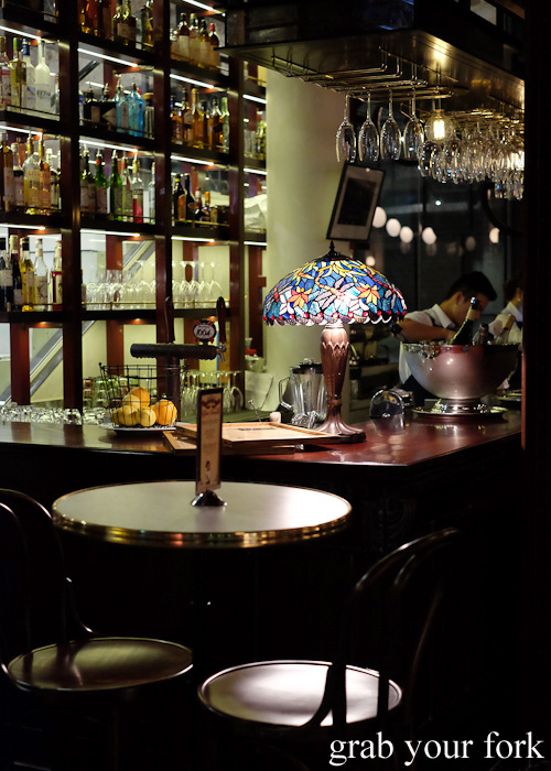 Bar at Bistrot Gavroche in Chippendale