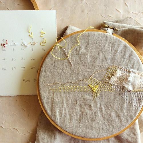 Stitch Journal, Day 100