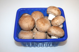 01 - Zutat Champignons / Ingredient mushrooms