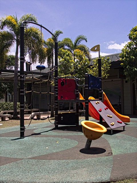 Playground At Noon