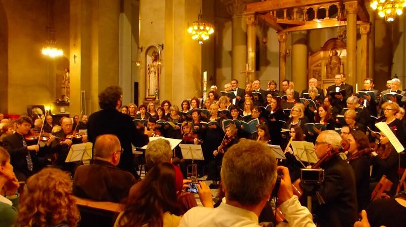 Flautistes de bec del conservatori toquen el Magnificat de Bach