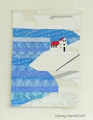 improv. landscape quilt