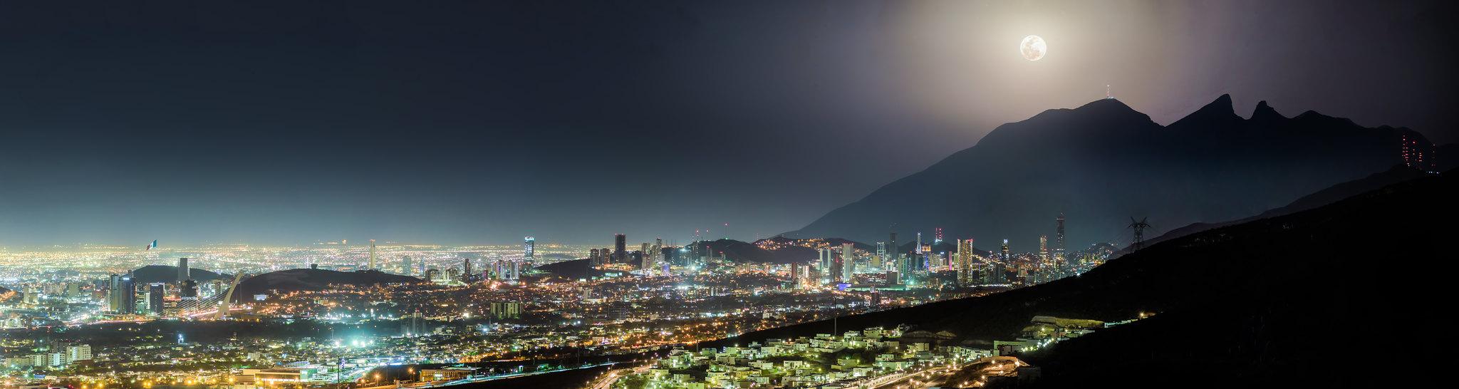 Foto panoramica de rayados 31