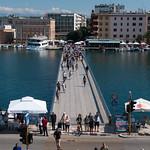 Puente en Zadar