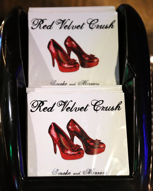 Rusty Needle 4-22-16 Red Velvet Crush