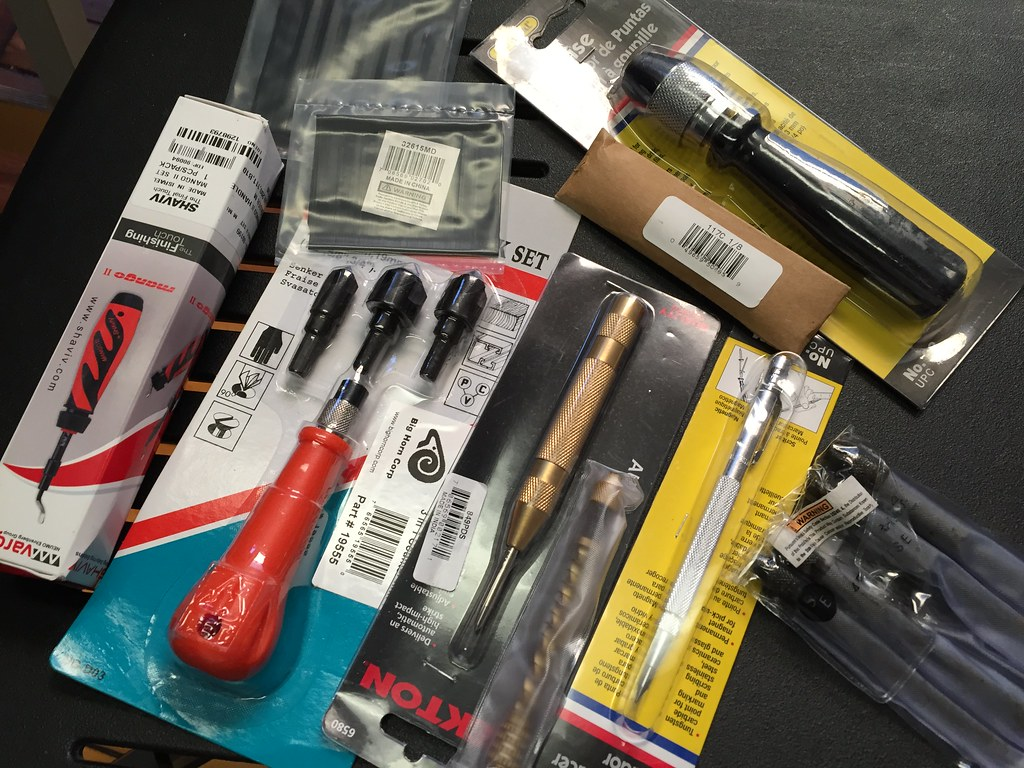 All of these tools came in the mail at the same time