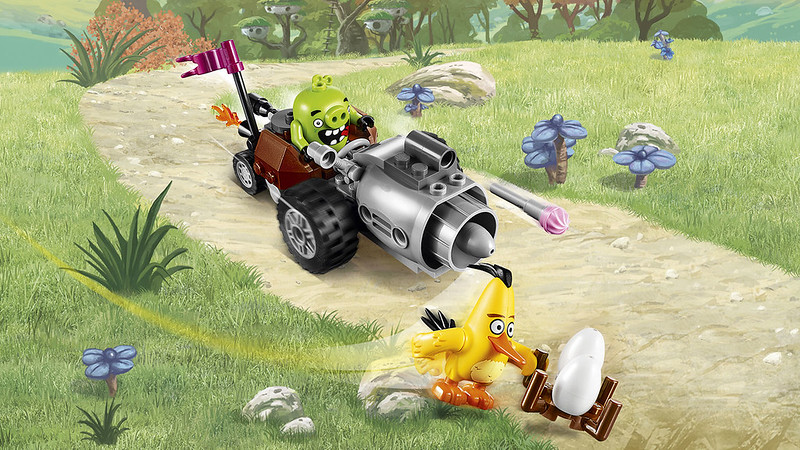 LEGO Angry Birds Movie 75821 - Piggy Car Escape