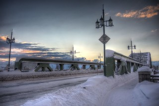 Asahibashi-Bridge in morning on JAN 09, 2016 (18)