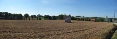 Le menhir de La Verrie près de Monteneuf - Morbihan - Août 2015 - 01