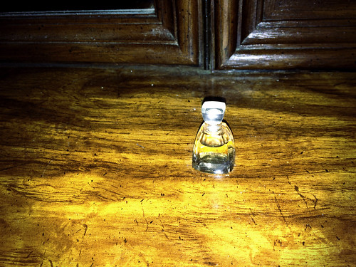 The Unremovable Perfume Bottle at the Markham House (January 20 2015)