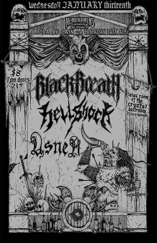 1/13/16 BlackBreath/Hellshock/Usnea