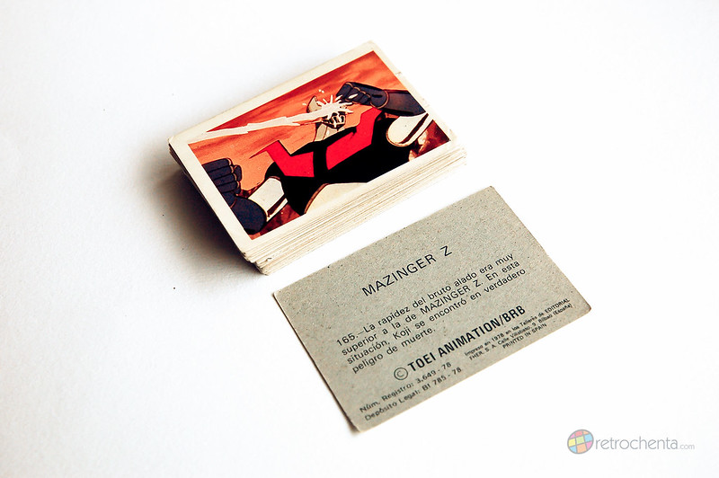 Mazinger Z - cromos Fher
