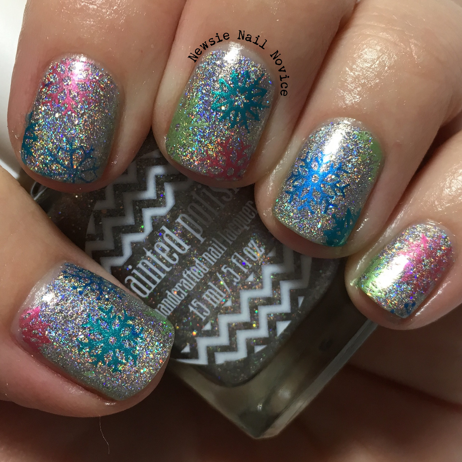 40 Great Nail Art Ideas – New Years Nails | Newsie Nail Novice