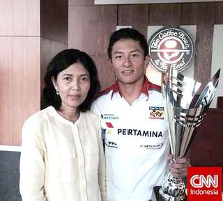 Rio Haryanto perjuangan seorang Ibu CNN Ind