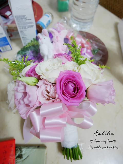可愛兔子娃娃新娘捧花 (2)