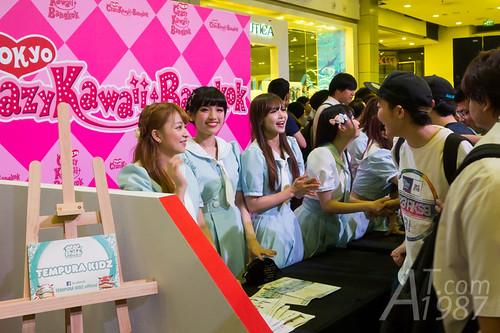 Akishibu Project at Japan Expo Thailand 2016