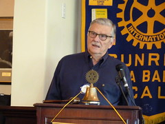 President Bill Welcomed Rotarians and Guests
