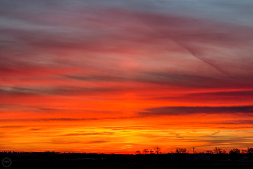 sky color weather clouds sunrise canon illinois midwest january ofallon 2016 eost5