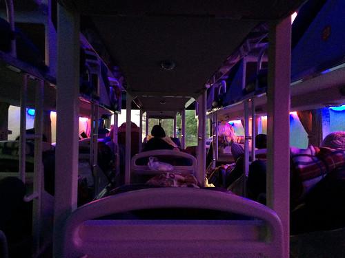 Bus de nuit de Hué à Hanoi
