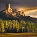 Dark Golden Towers by Zack Schnepf