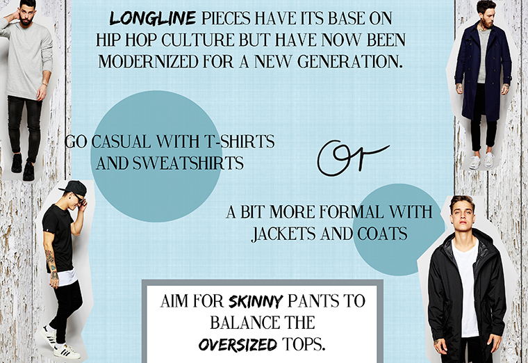 How to wear longline clothes 2