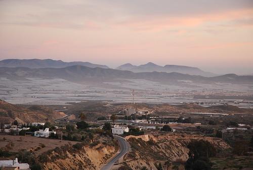 Imágenes de Níjar desde La Atalaya