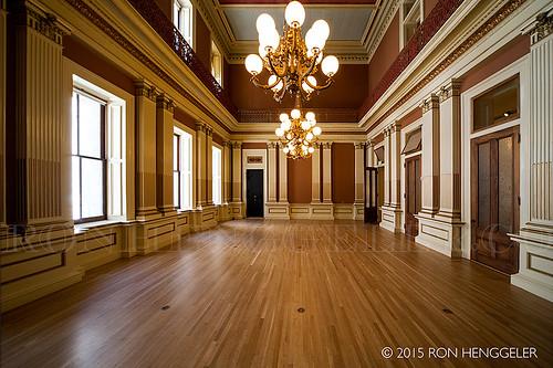 Old San Francisco Mint interior