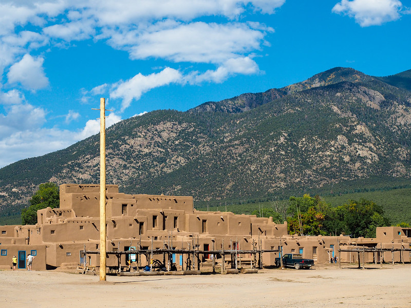 Taos Pueblo Northern House