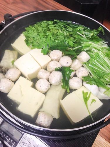 煮込むだけの湯豆腐鱈鍋!