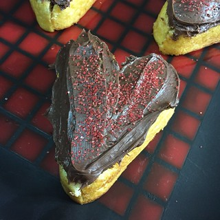 heart shaped twinkie cakes