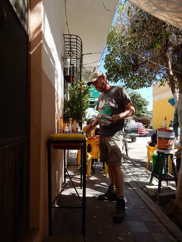 San Blas - professioneel langs de hete sausbar