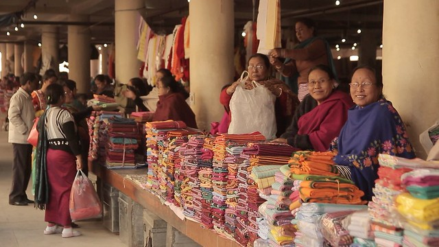 Mother's Market in Imphal, India-1