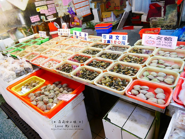 新竹一日遊景點推薦南寮漁港買海鮮 (2)