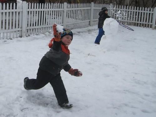 FINALLY! Snowballs!