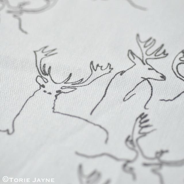 Deer Print Fabric
